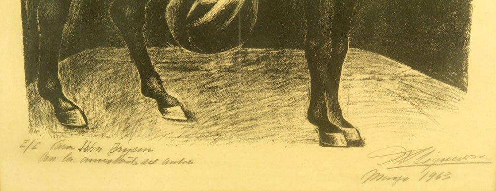 """Siqueiros, """"Zapata,"""" Artist Proof - 3"""