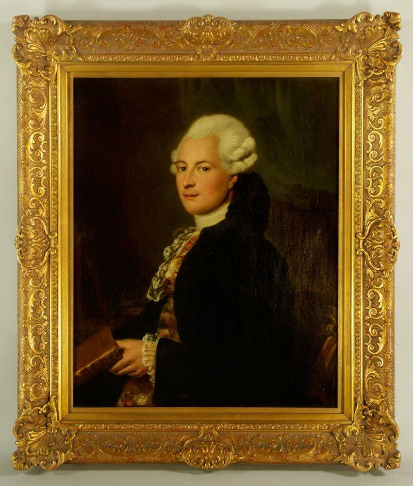 Attr. Scott, Portrait, Oil on Canvas