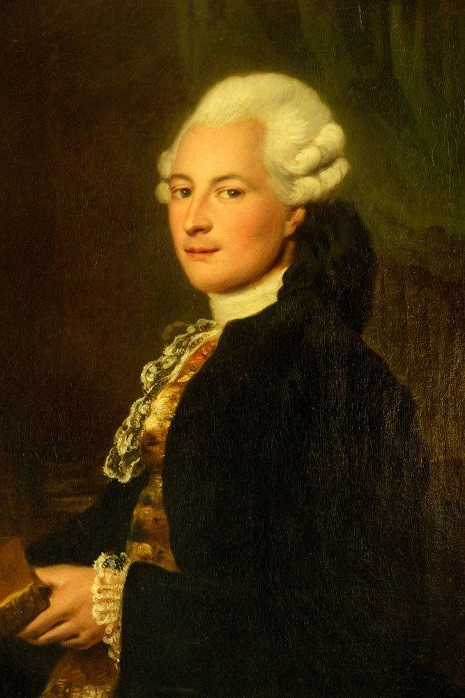 Attr. Scott, Portrait, Oil on Canvas - 2