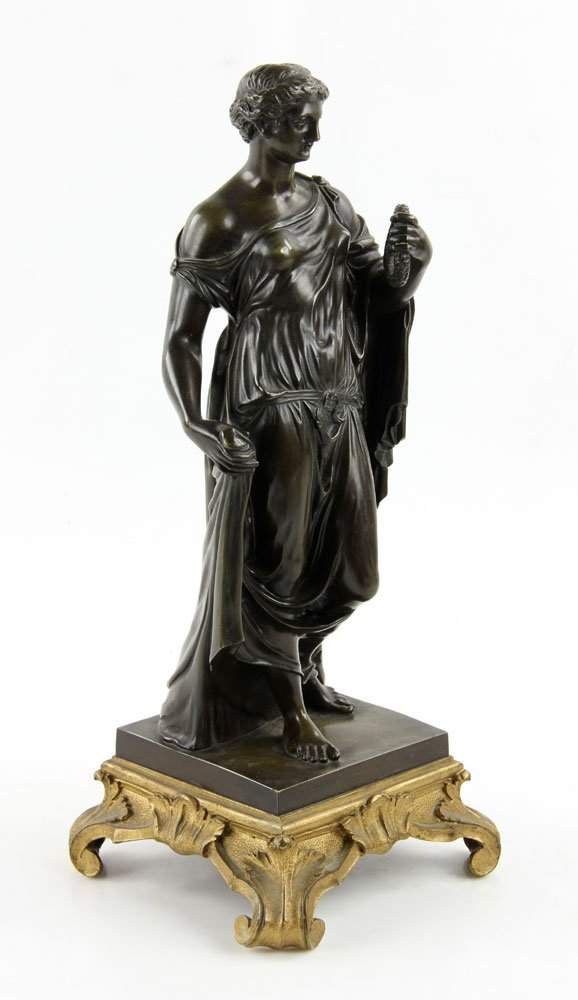 19th C. French Neoclassical Bronze