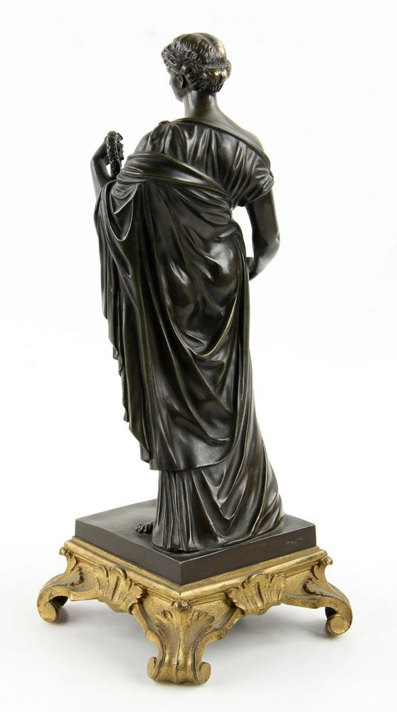19th C. French Neoclassical Bronze - 3