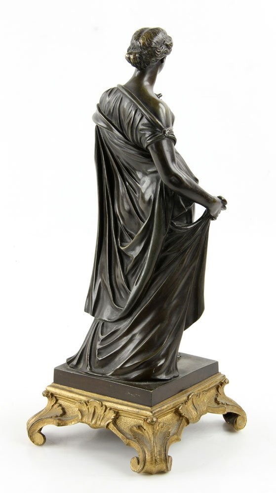 19th C. French Neoclassical Bronze - 4
