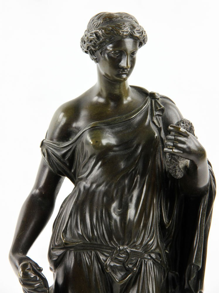 19th C. French Neoclassical Bronze - 6