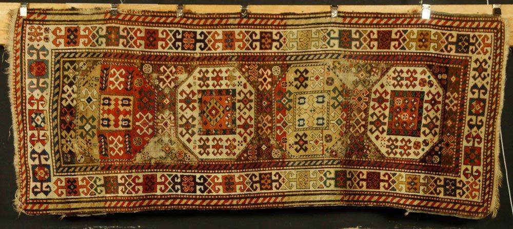 19th C. Caucasian Kazak Rug