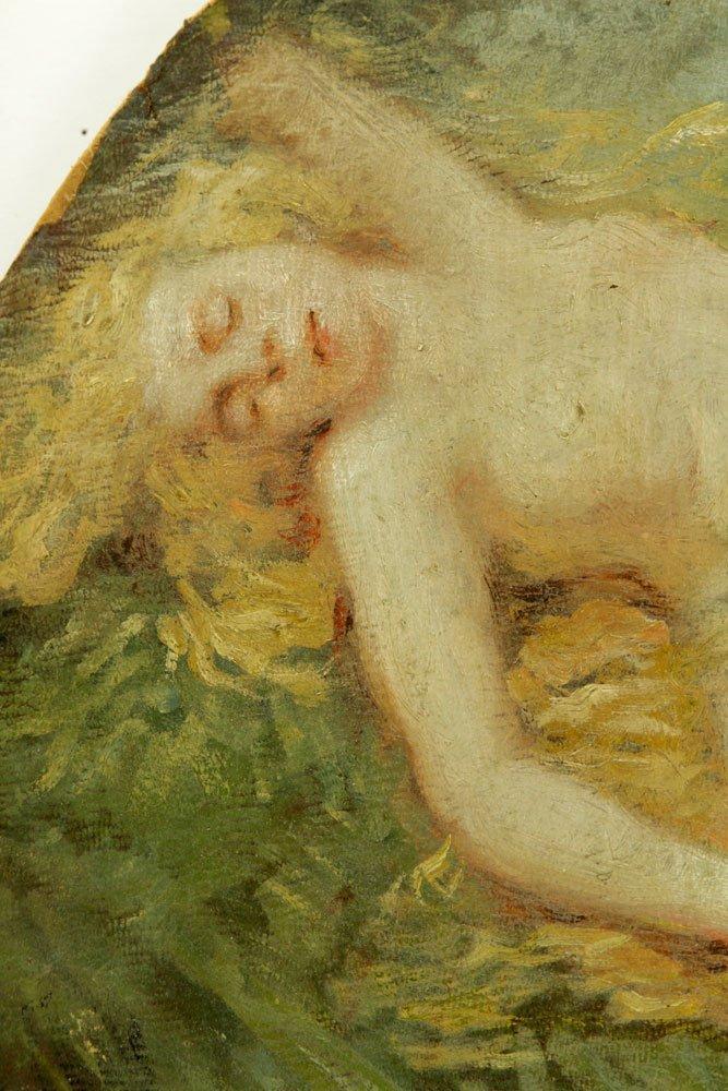 American School, Nude Bather, Oil on Canvas - 4