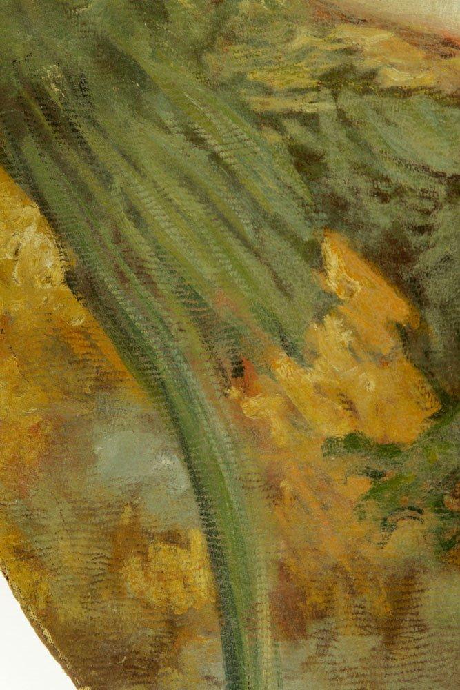American School, Nude Bather, Oil on Canvas - 6