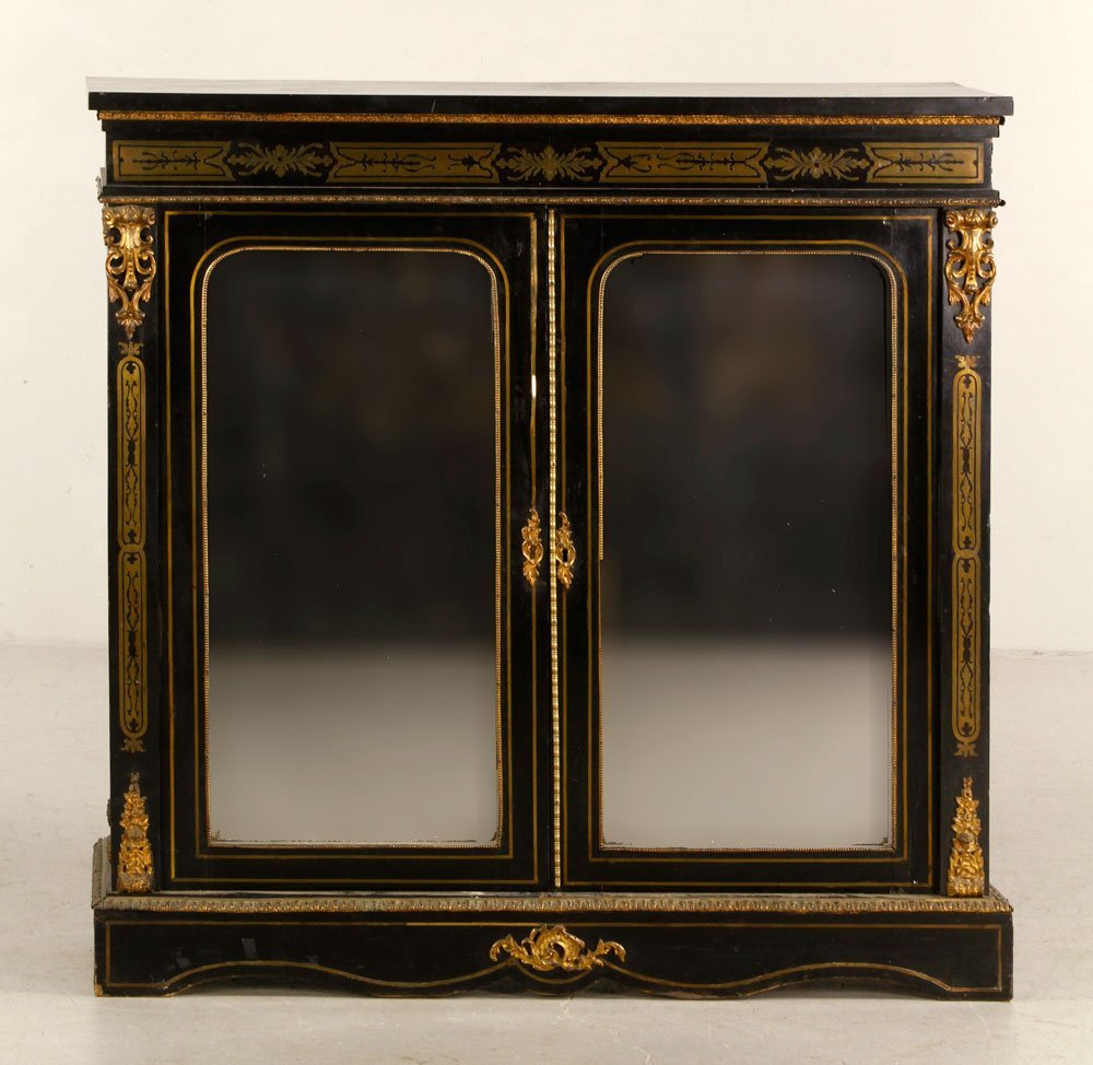 French Inlaid Side Cabinet