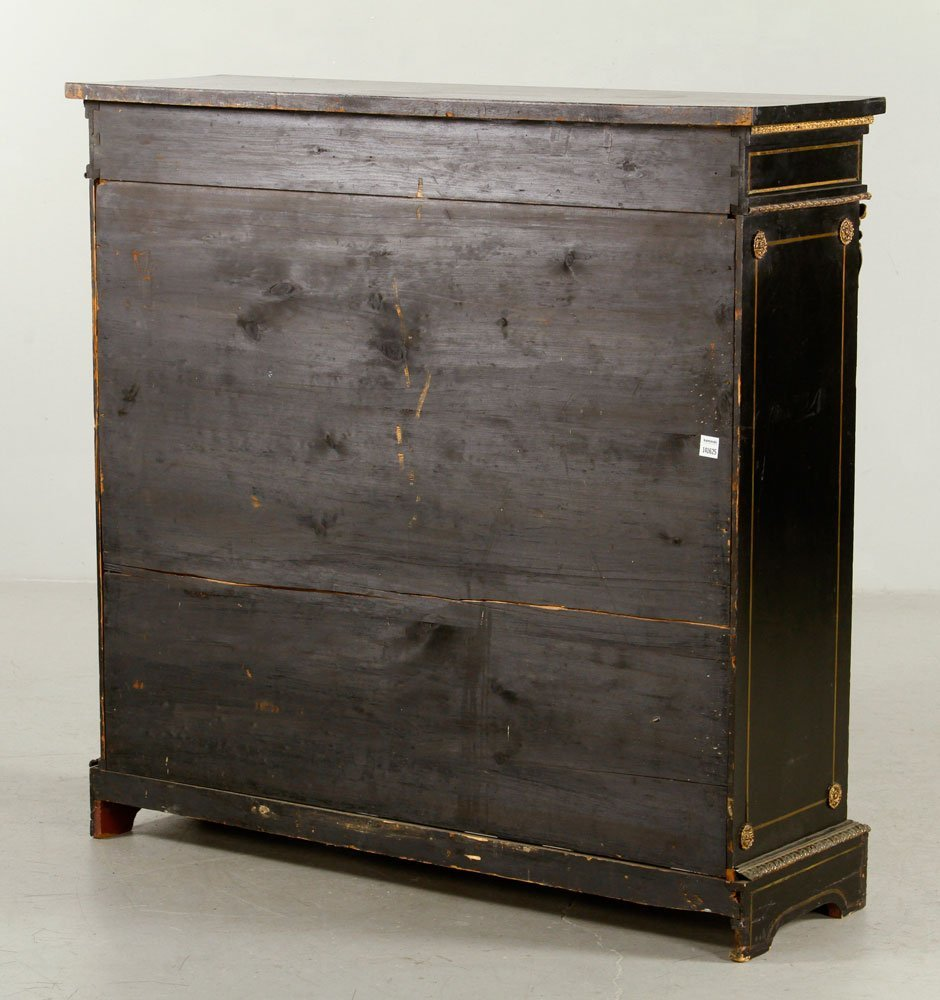 French Inlaid Side Cabinet - 5