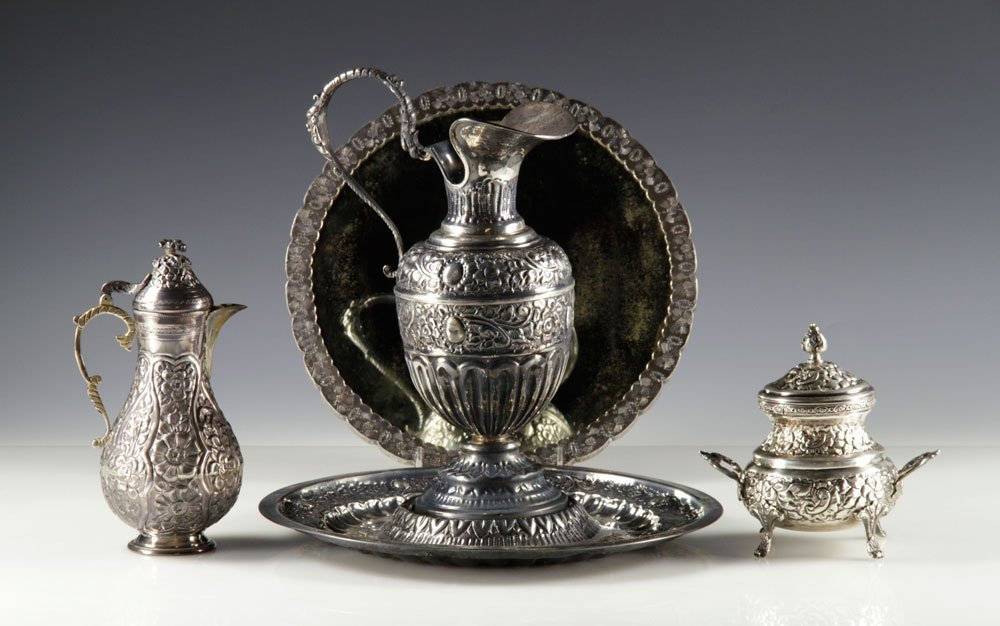 Group of Vintage Middle Eastern Silver