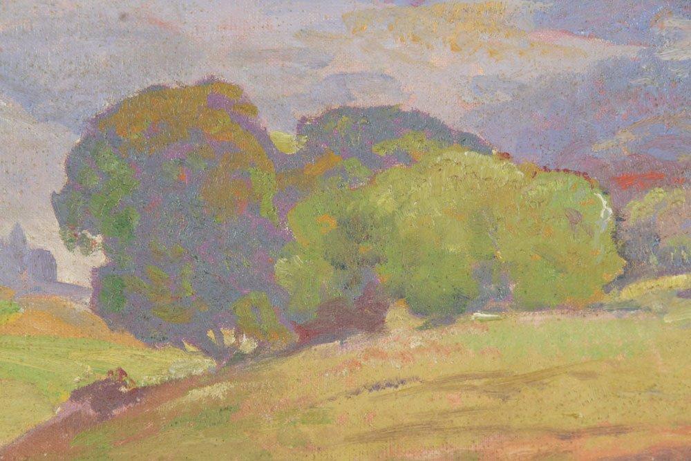 Bartlett, California Mountains Vista, Oil on Canvas - 6