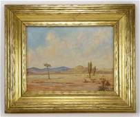 Sartelle, Colorado Landscape, Oil on Canvas