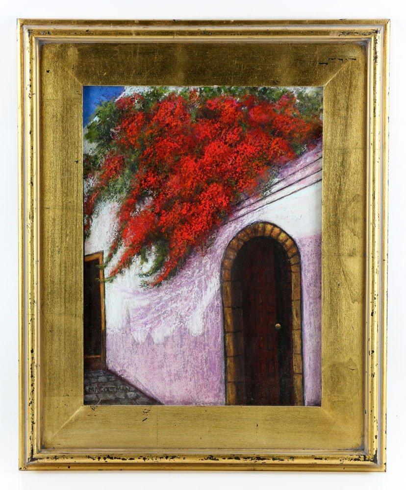 Coltman, Doorway, Pastel