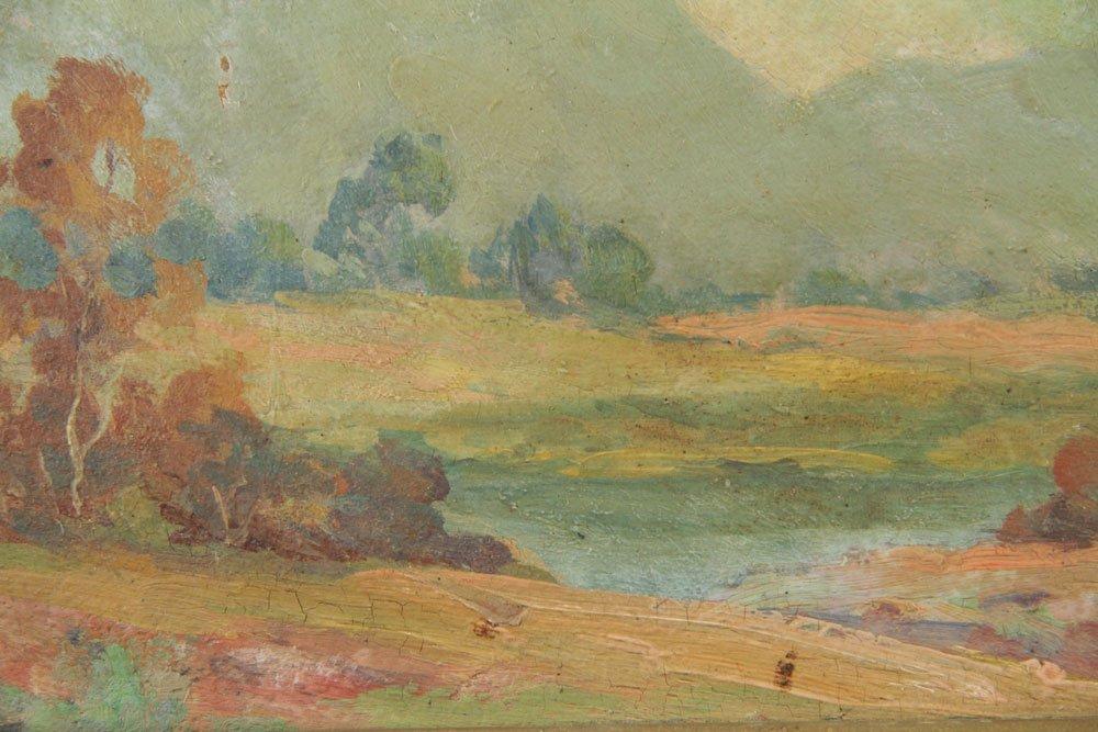 Ingle, California Landscape, Oil on Board - 5