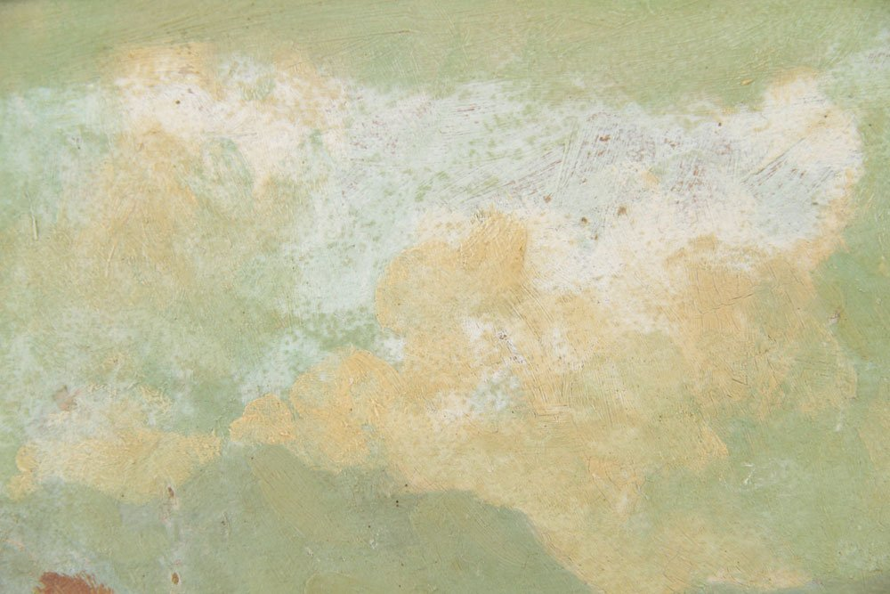 Ingle, California Landscape, Oil on Board - 6