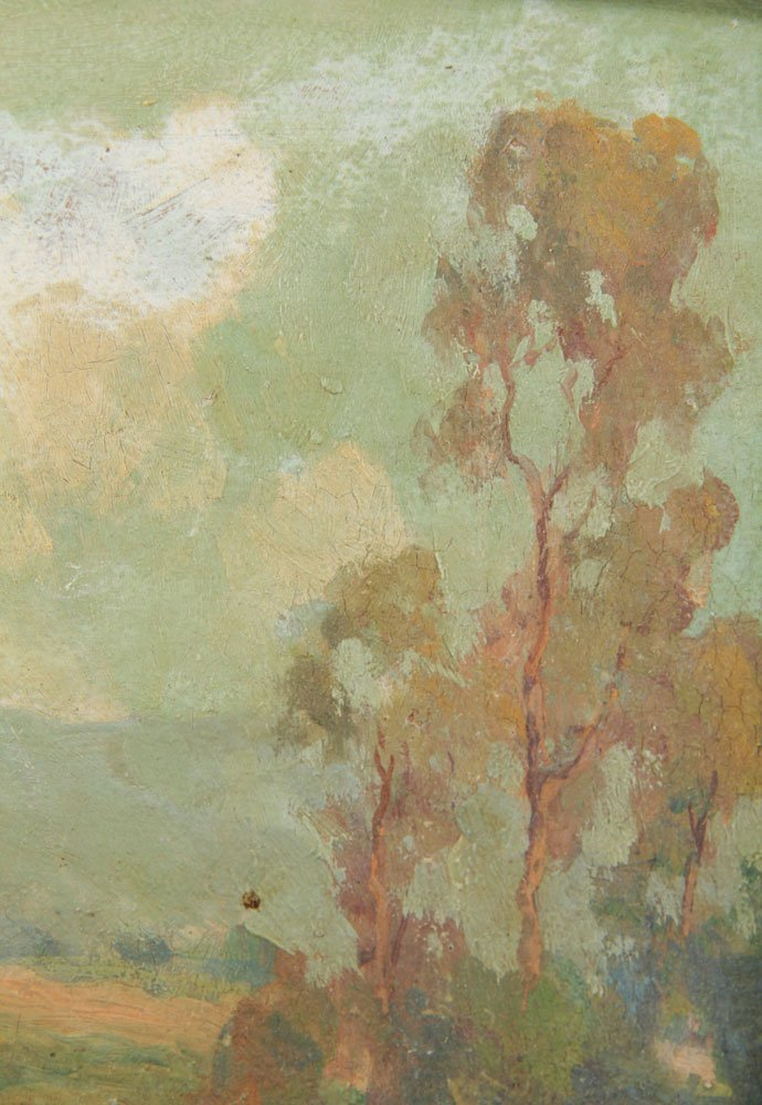 Ingle, California Landscape, Oil on Board - 7