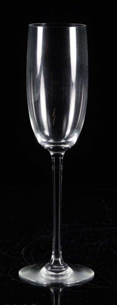Set of Baccarat Crystal Stemware - 4