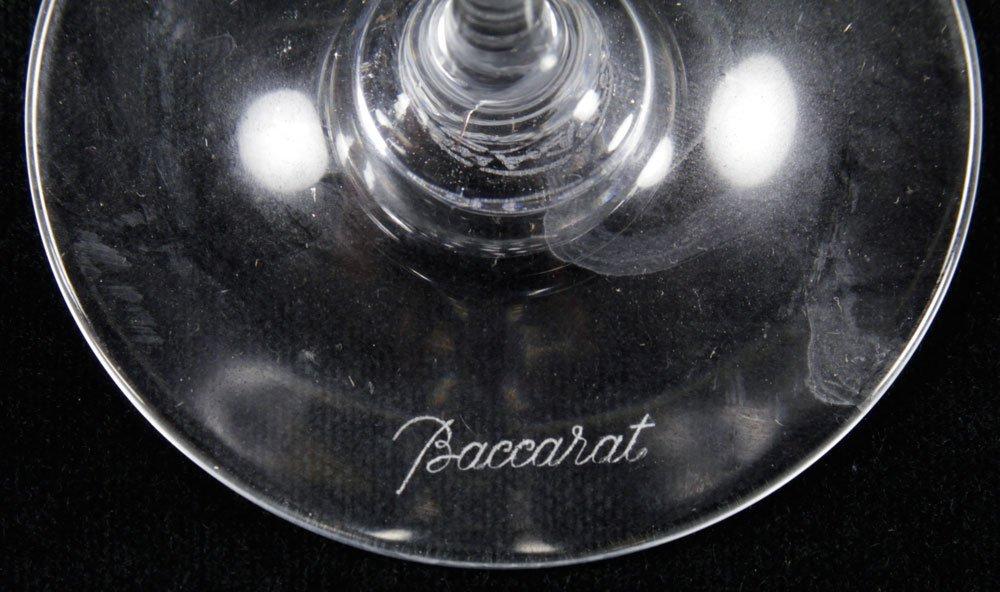Set of Baccarat Crystal Stemware - 6