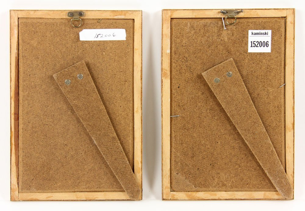 Two Persian Painted Manuscript Pages - 4