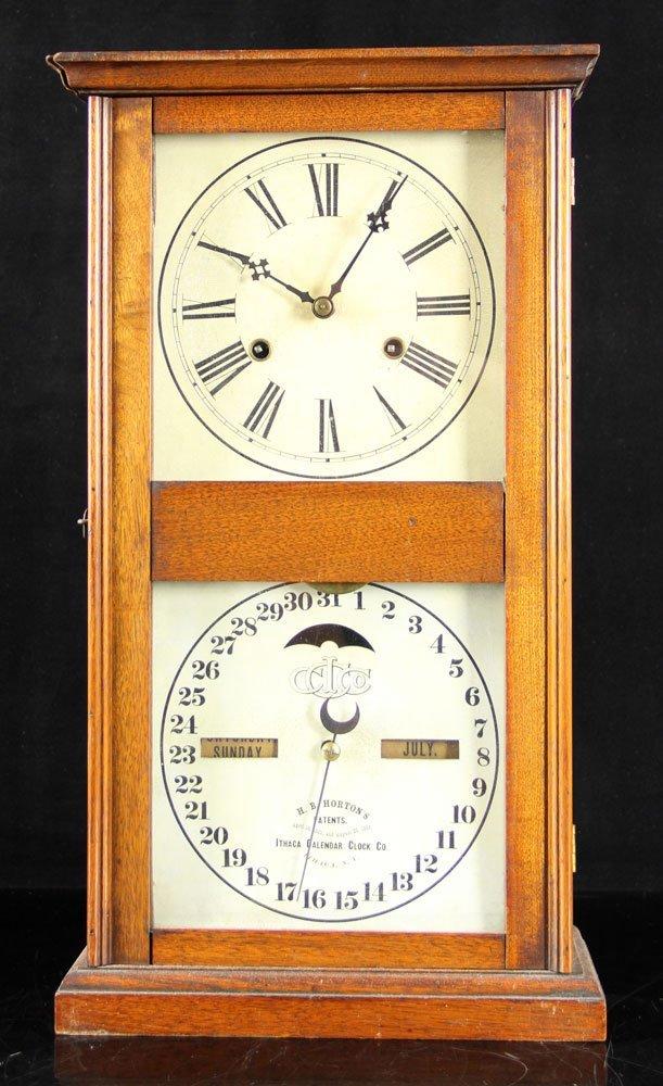 19th C. Ithaca Calendar Clock