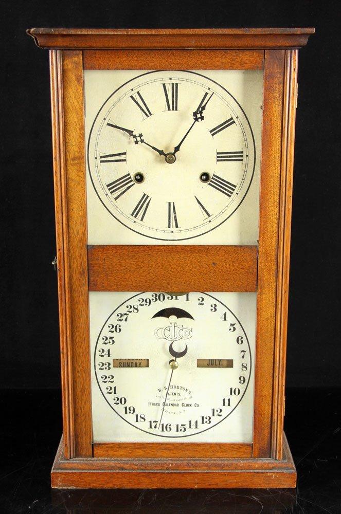19th C. Ithaca Calendar Clock - 2