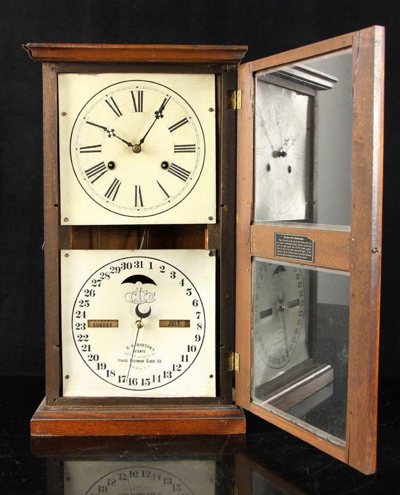 19th C. Ithaca Calendar Clock - 3