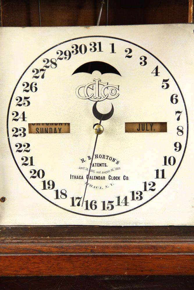 19th C. Ithaca Calendar Clock - 5