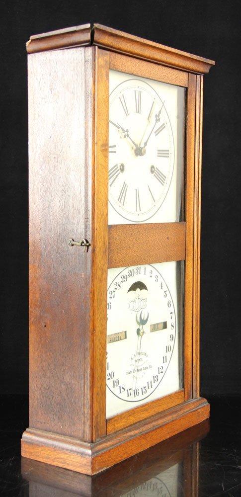 19th C. Ithaca Calendar Clock - 6