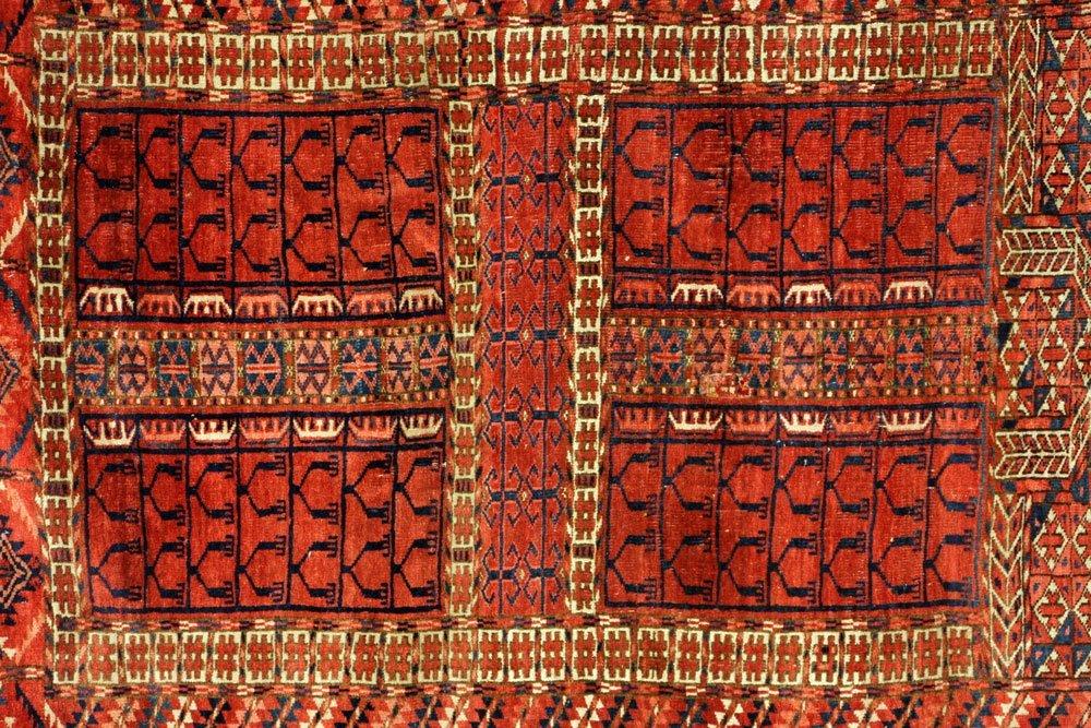 Antique Turkmen Carpet - 2