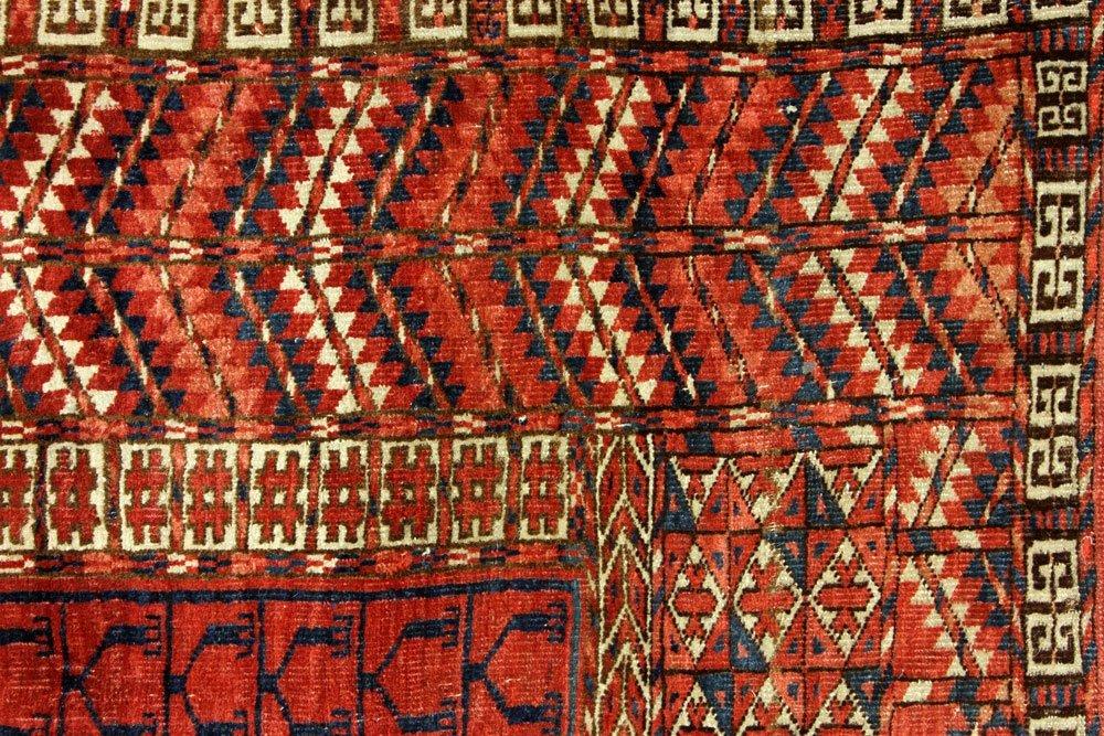 Antique Turkmen Carpet - 3