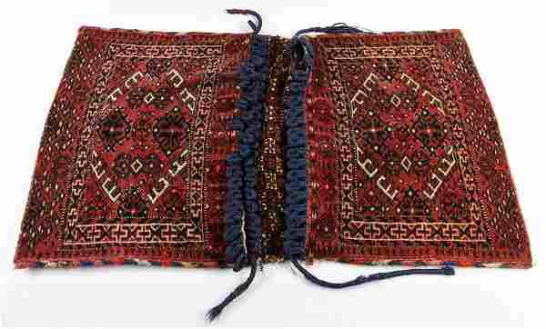 Pr. Antique Turkmen Saddle Bags