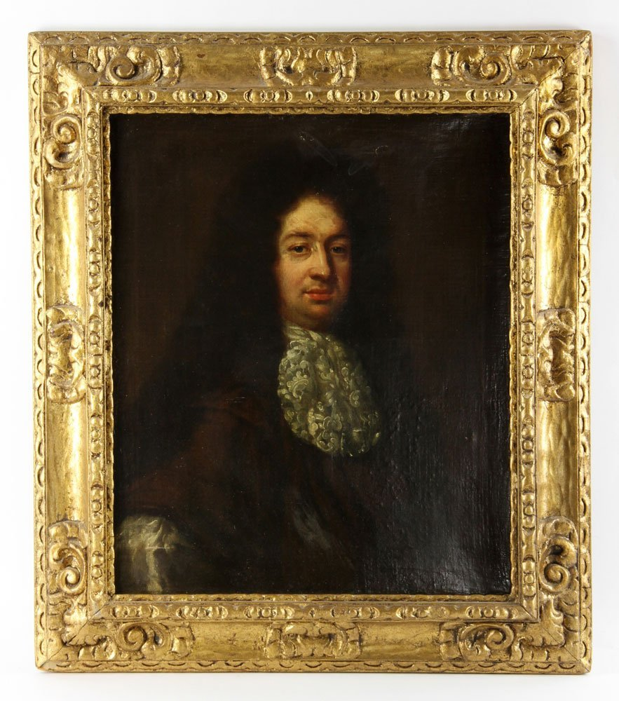 18th C. Portrait of a Nobleman, Oil on Canvas