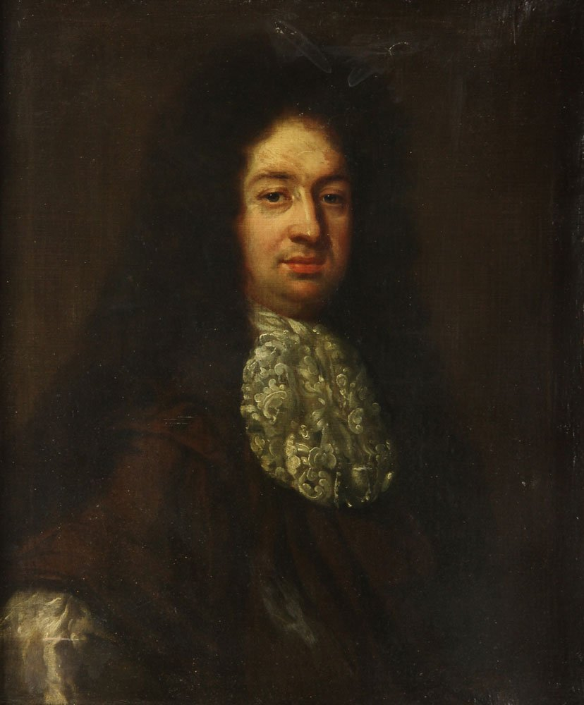 18th C. Portrait of a Nobleman, Oil on Canvas - 2