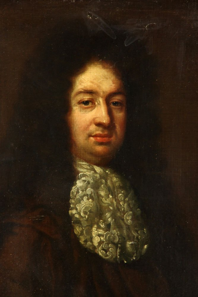 18th C. Portrait of a Nobleman, Oil on Canvas - 3