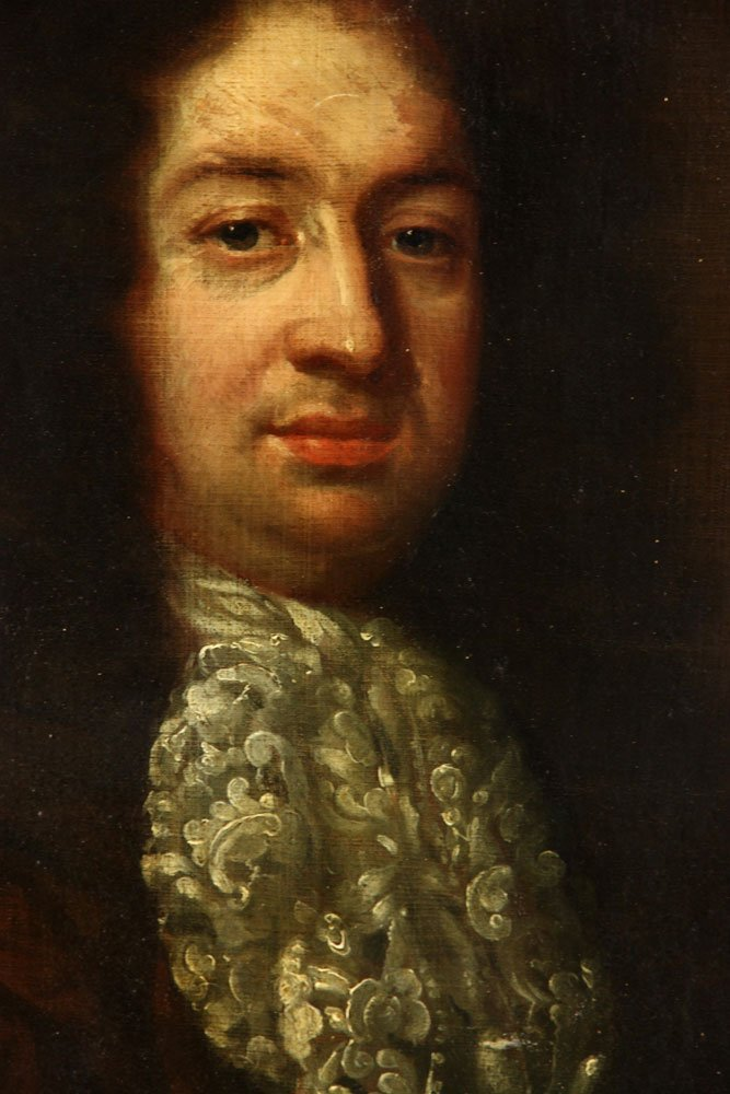 18th C. Portrait of a Nobleman, Oil on Canvas - 4