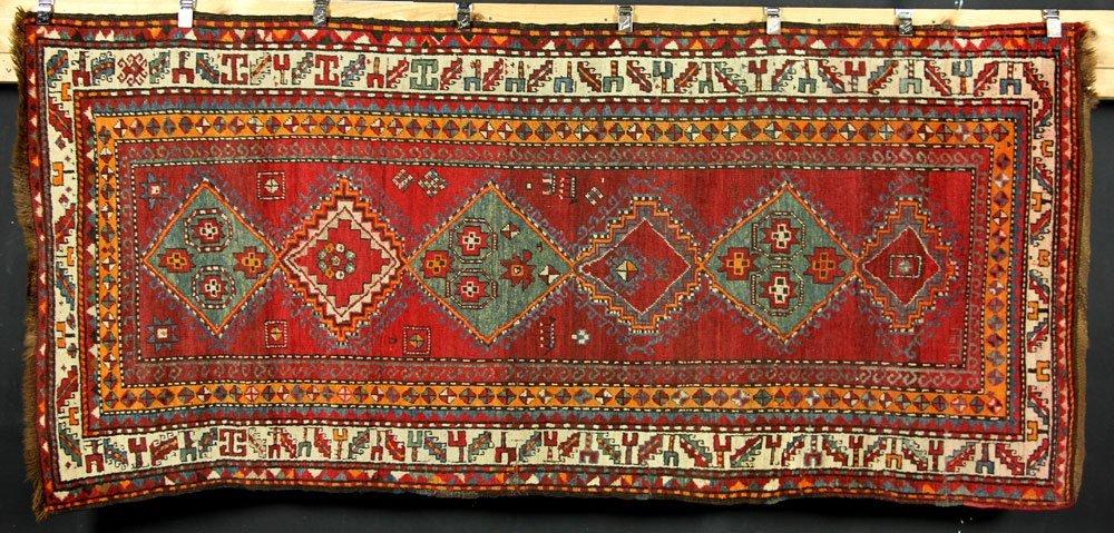 Antique Caucasian Carpet Runner