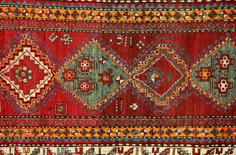 Antique Caucasian Carpet Runner - 2