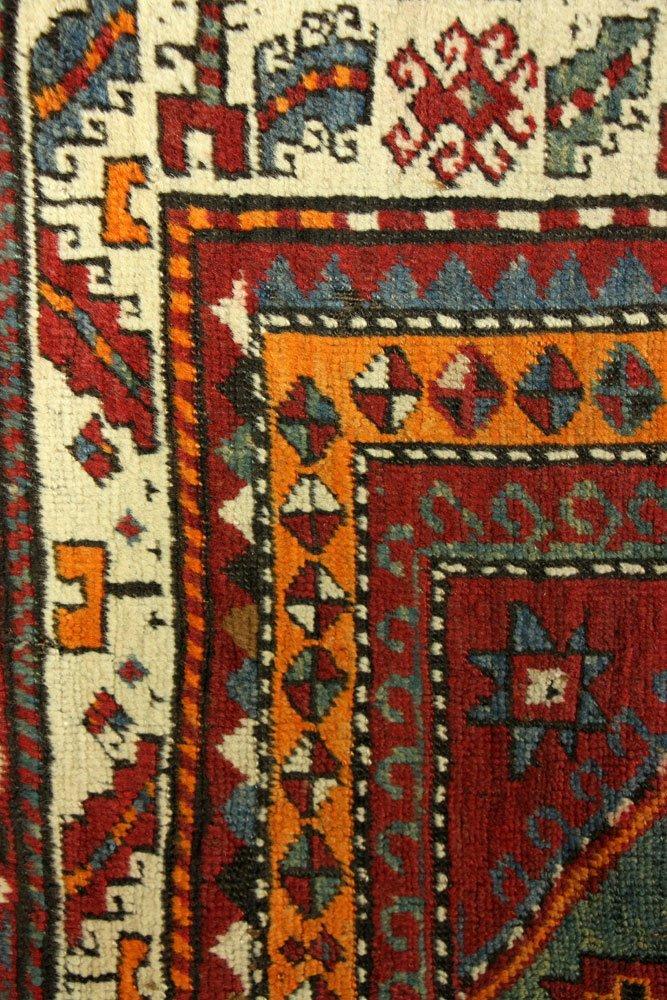 Antique Caucasian Carpet Runner - 3