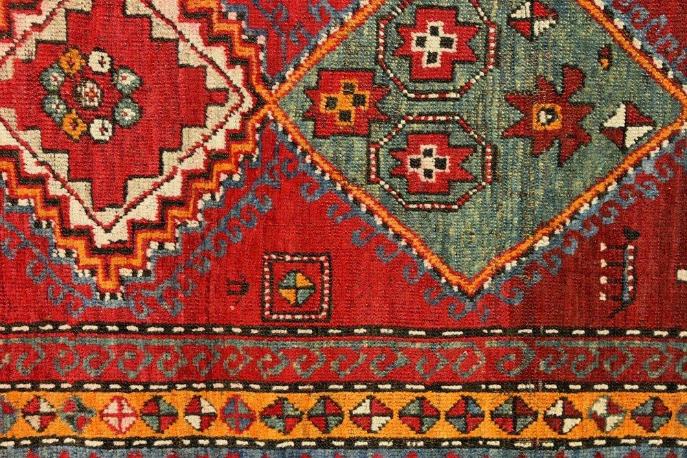 Antique Caucasian Carpet Runner - 4