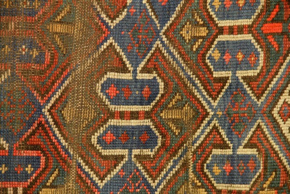 Antique Caucasian Carpet - 2
