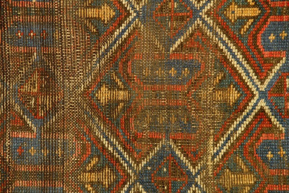 Antique Caucasian Carpet - 3