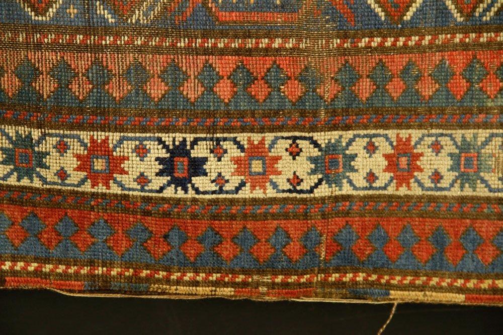 Antique Caucasian Carpet - 4