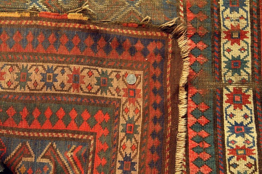 Antique Caucasian Carpet - 6