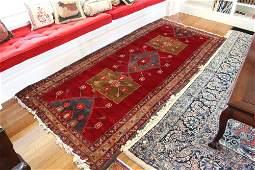 Semi Antique Tribal Persian Carpet Runner
