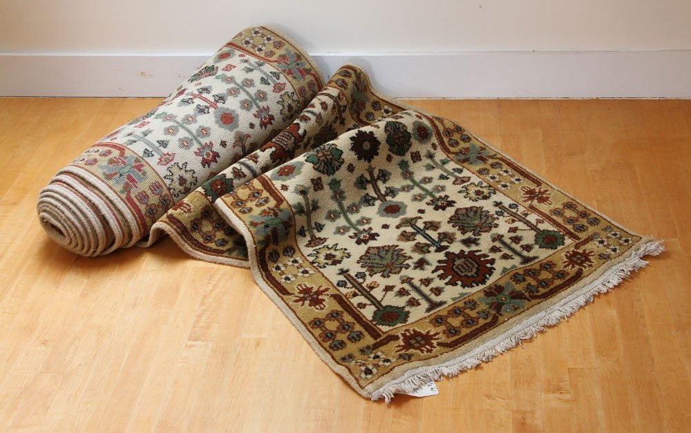 Semi Antique Mahal Carpet Runner