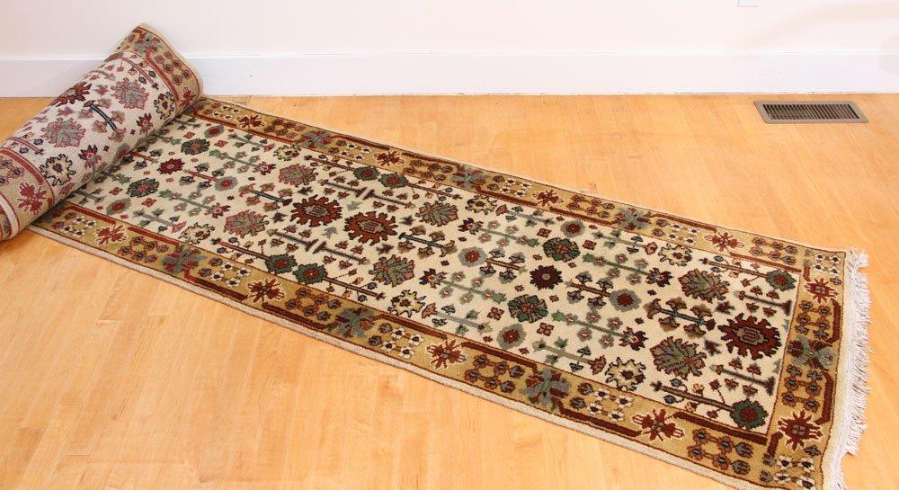 Semi Antique Mahal Carpet Runner - 4