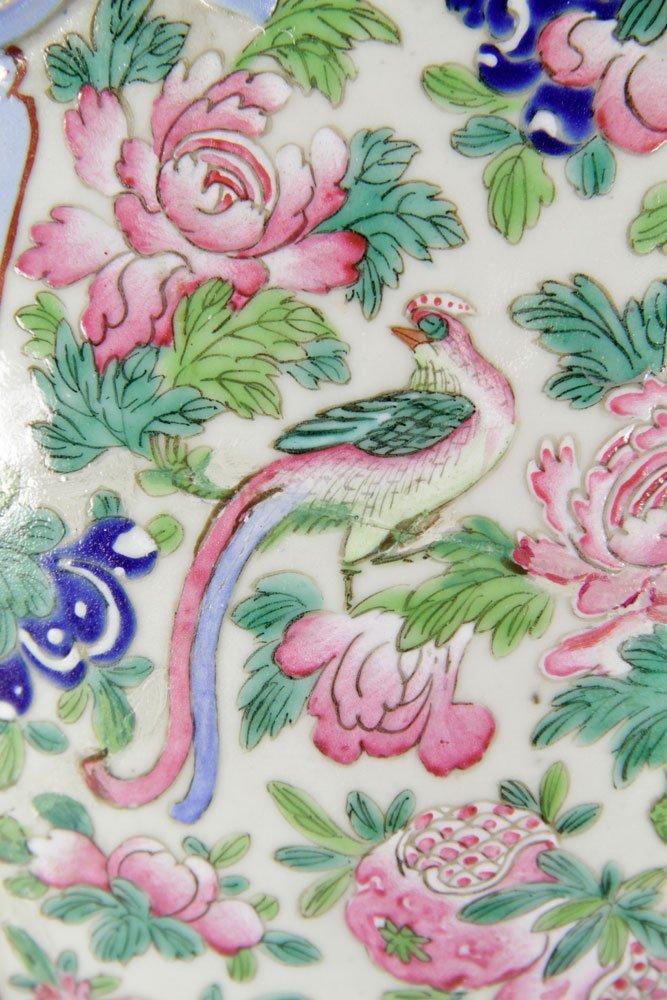 19th C. Chinese Rose Mandarin Vase - 6