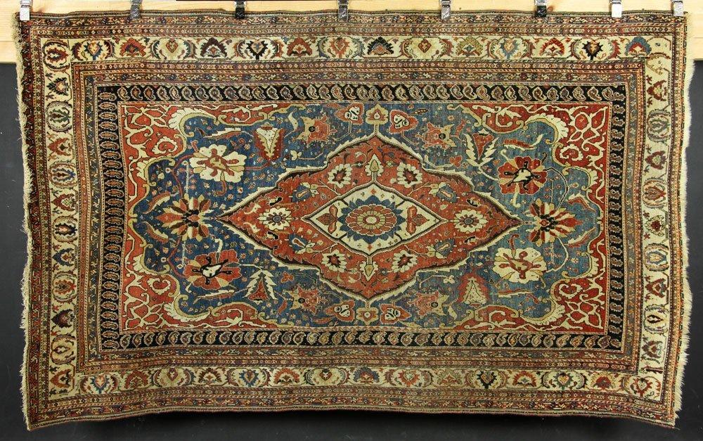 18th to 19th C. Persian Farahan Carpet