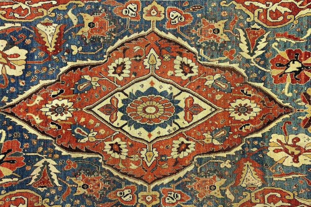 18th to 19th C. Persian Farahan Carpet - 2