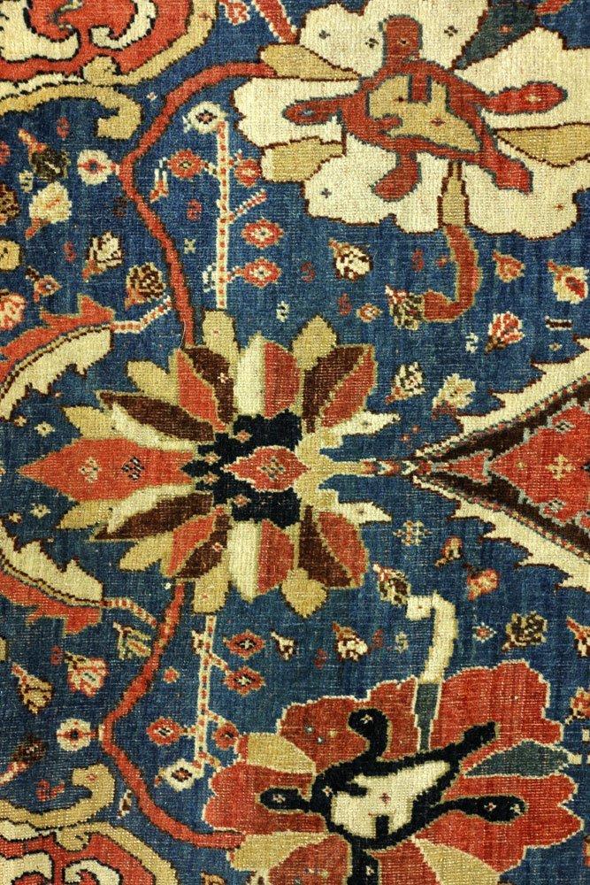 18th to 19th C. Persian Farahan Carpet - 3