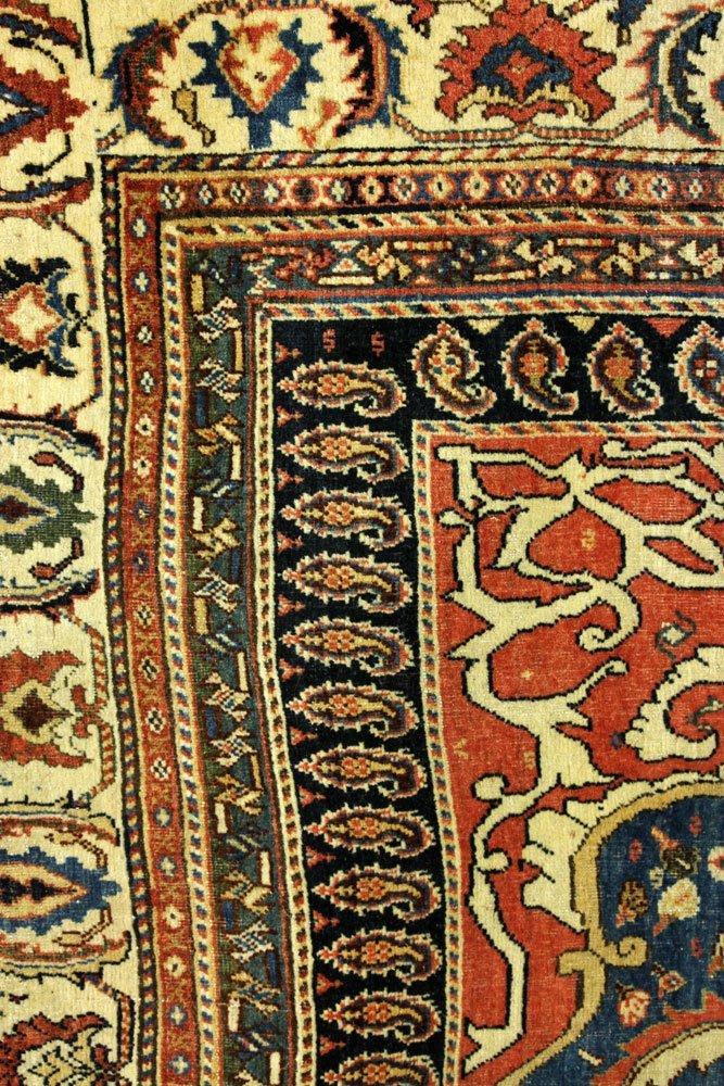 18th to 19th C. Persian Farahan Carpet - 4